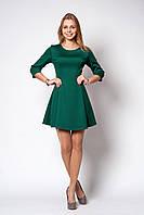 Стильное молодежное платье трикотаж-дайвинг р.42-46 V218