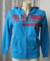 Детская кофта подростковая модная теплая хлопок бренд Yigga р.10-12 лет 5553