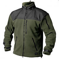 HELIKON-TEХ куртка CLASSIC ARMY флисовая олива/чёрная
