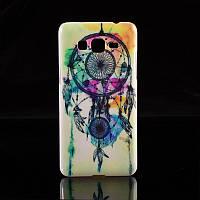 [ Samsung  Galaxy Core 2 G355H G355 ]  пластиковый яркий чехол на смартфон Самсунг Ловец снов