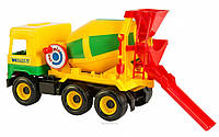 Игрушечная бетономешалка Middle Truck Тигрес 39223