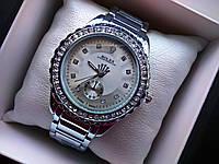 Женские наручные часы под серебро Rolex 13
