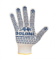 Перчатки рабочие с ПВХ нанесением (520) ТМ DOLONI / Украина