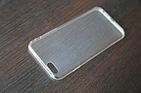 Силиконовый прозрачный чехол для iPhone 6