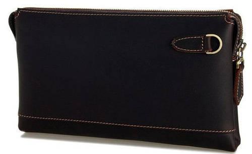 Красивый мужской кожаный клатч S.J.D. 8046R
