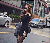 Шикарные платья с длинным рукавом