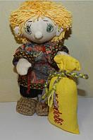 Текстильная авторская кукла ручной работы Домовенок  Тимофей