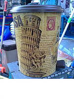 Ведро мусорное с педалью 7 л Elif 365-11, Турция