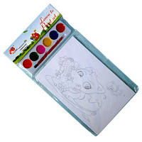 Набор для рисования с красками