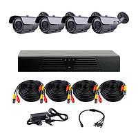 AHD комплекты видеонаблюдения CoVi Security HVK-3004 AHD PRO KIT