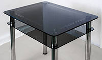 Обеденный стол из стекла Грань