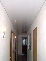 Матовые натяжные потолки в Днепропетровске для коридора