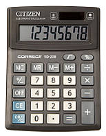 Citizen Correct SD-208 калькулятор настольный
