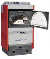 Полупиролизные котлы отопления на твердом топливе ATMOS D 15 - котлы на дровах