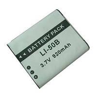 Аккумулятор для фотоаппаратов PANASONIC - аккумулятор VW-VBX090 (Li-50B, D-Li92, NP-150) - аналог на 920 ма