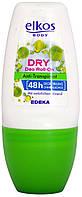 Дезодорант шариковый Elkos Deo Roll-on Dry 50мл.