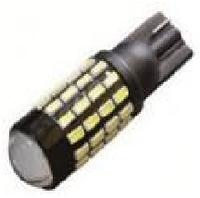 Светодиодная лампочка t10 w5w 54smd (3014) линза+драйвер  650Lm