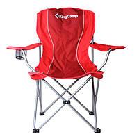 Кресло складное KingCamp Arms Chairin Steel Red KC3818