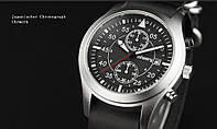 Армейские часы INFANTRY CHRONOGRAPH LEATHER BLACK