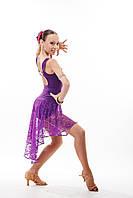 """Платье для латины фиолет """"Лайза-2"""""""