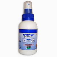Frontline (Фронтлайн) спрей от блох и клещей 100 мл. для кошек и собак