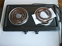 Плита электрическая Злата-214Т 2х конфорочная ступенчатая регулировка.