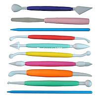 Инструмент для мастики разноцветный