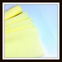 Гофрированная бумага 50*250 см Желтая