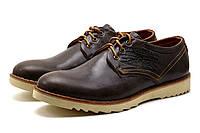 Туфли мужские спортивные Levi's Desert, натуральная кожа, коричневые, р. 41 43 44 45, фото 1