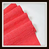 Гофрированная бумага 50*250 см Красная