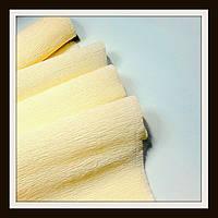 Гофрированная бумага 50*250 см Молочная