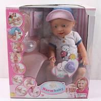 Кукла пупс Baby Born функциональный 43cм с горшком