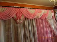 Ламбрекен со шторами