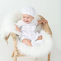 Набор для крещения  (песочник, берет, пинетки) Андреа от  Battesimo от 6 до 12 месяцев