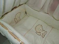 Набор постельного белья для новорожденных  Bonna с вышивкой