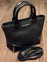 Сумка Givenchy черная,эко-кожа мини