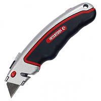Нож с выдвижным трапециевидным лезвием HT-0516
