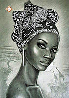 """Схема для вышивки бисером """"Жемчужина Африки"""""""