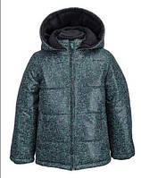 Демисезонная куртка для мальчика с капюшоном. Размеры: 92,98,110,116 см.