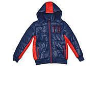 Современная теплая курточка для мальчика/сучасна тепла куртка для хлопчика. Размеры: 116. ТМ Tiffosi (Португал