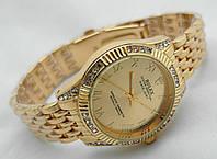 Часы женские ROLEX -  Oyster Perpetual, цвет корпуса и циферблата золотой