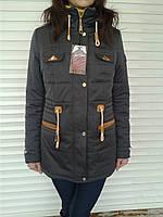 Модная куртка парка женская