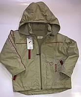 Удлиненная курточка для мальчика/Подовжена куртка для хлопчика. Размеры 110,116. Польша.