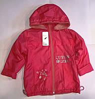 Весенняя куртка 116 размера для девочки/Весняна куртка 116 розміру для дівчинки. Польша.