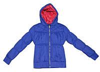 Удлиненная весенняя курточка для девочки  в размерах: 116,140. ТМ Tiffosi (Португалия).