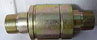 Муфта разрывная (клапан) евро двухсторонняя S32(шар/шар) (М27х1,5) пр-во ДК