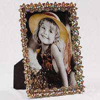 """Рамочка для фотографии """"Самоцветы"""" 12х17 см, для фото 10х15 см"""