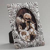 """Рамочка для фотографии """"Капель"""" 12х15 см, для фото 9х13 см"""