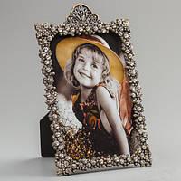 """Рамочка для фотографии """"Капельки"""" 12х17 см, для фото 10х15 см"""