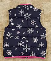 Фирменная стильная жилетка Gymboree для девочки 6-7 лет на рост 110-116см